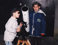 Stas and Henry with the scope